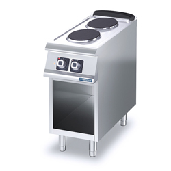 4343846 | Range Metos Diamante D72/10CEPT with open cupboard |