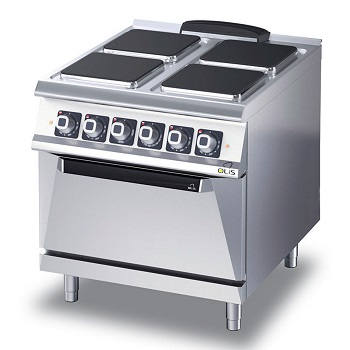 4343850 | Range with oven Metos Diamante D74/10CEEPQ |