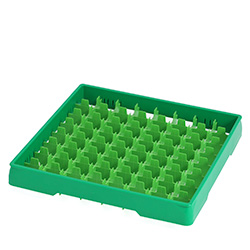 4550029 | Green heightening frame with green divider Metos |