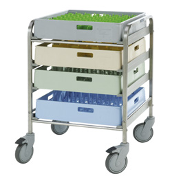 4554088 | Basket trolley  Metos  BAT-4 |
