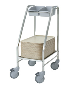 4554100 | Tray/cutlery trolley  Metos  TCT-45 |