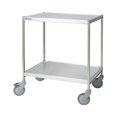 4554228 | Service trolley  Metos  SET-75WH/2high FP, 2 tiers, without handles |