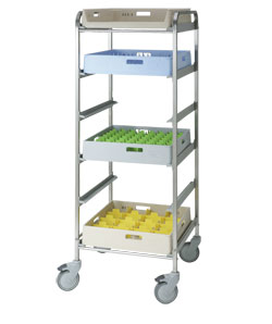 4554476 | Basket trolley  Metos  BAT-6 high |