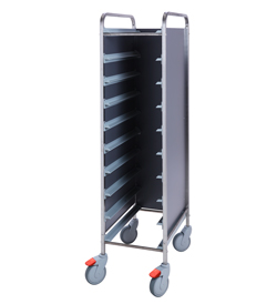 4558096 | Tray trolley Metos TRT-10C FP grey |
