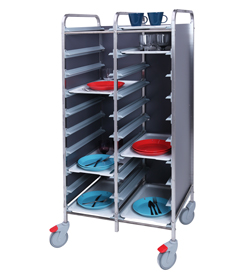 4558098 | Tray trolley Metos TRT-20C FP grey |